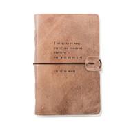 Leather Journal - Elsie de Wolfe