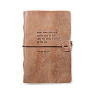 Leather Journal - Hellen Keller
