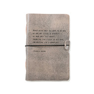 Leather Journal - Francis Bacon