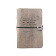 Leather Journal - Amelia Earhart