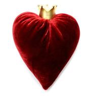 Cherry Velvet Heart