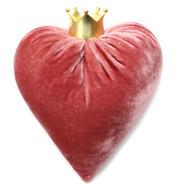 Rose Velvet Heart