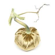 Panne Velvet Pumpkin - Brass