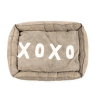 Washed Canvas Pet Bed