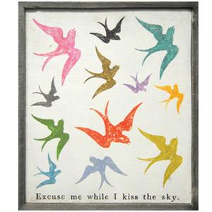 Excuse Me While I Kiss The Sky Print - LoveFeast Shop
