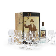 Numerology Wine Glass