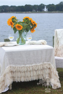 Chichi Linen Tablecloth