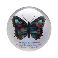 Set of 2 Butterfly Paperweight