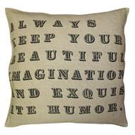 Always Keep Your Beautiful Imagination Pillow