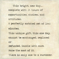 Small Art Print - This Bright New Day