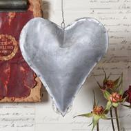 Galvanized Hearts - set of 3