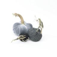Cashmere Pumpkin Trio - Gray Mist