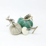 Cashmere Pumpkin Trio - Sand and Sea