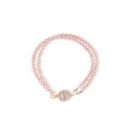 2 Strand Swarovski Crystal Bracelet