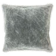 Elephant Velvet Pillow with PomPom
