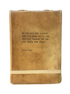 Leather Journal - Roald Dahl Quote