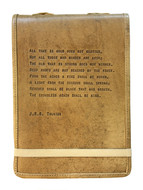 Leather Journal - J.R.R. Tolkien Quote