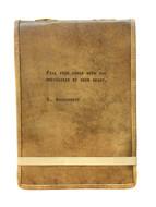 Leather Journal - Wordsworth