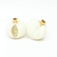 Velvet Pomegranate - White