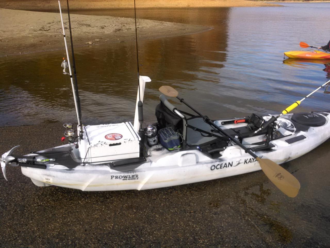 Kayak Anchoring System
