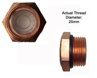 "Oil Sight Glass Copper 3/4"" BSP to suit Puma Pumps"