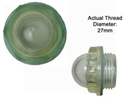 Oil Sight Glass Plastic 27mm to Suit all NB Italian Pumps