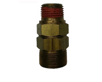 "Unloading Check Valve PA24 Pipe Fitting 1/2"" Male to 1/2"" Male"