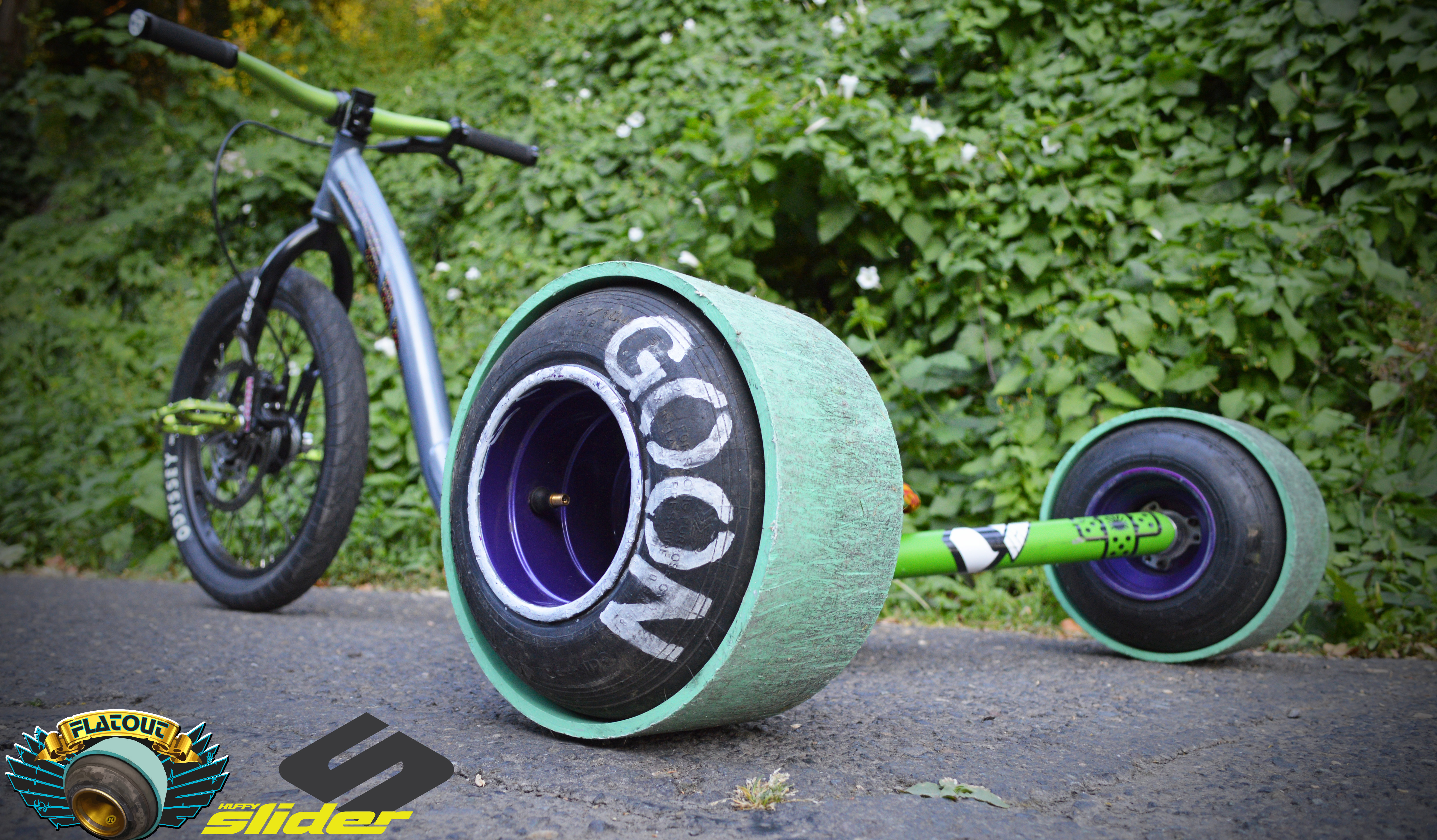 drift trike wheels flatout drift trikes