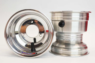 "5x5"" Kart Wheels (Polished)"