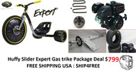 Huffy Slider Expert GAS /  Gravity Package Deal