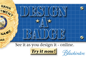 Blackinton Police and Fire Badges Buy Online from Saymore Trophy
