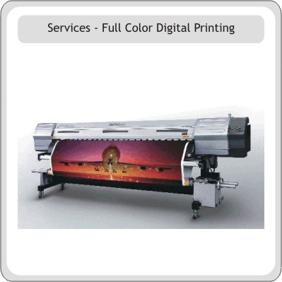 Full Color Digital Printing Signs and Banners