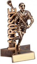 Lacrosse Resin Trophy