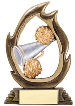 cheerleading resin trophies