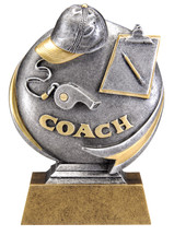 Coach Motion Xtreme Series Resin Trophy