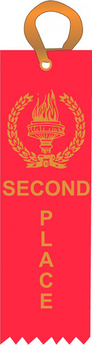 second place ribbon
