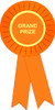Grand Prize Stock Place Rosette Ribbon