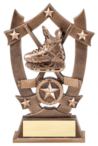 hockey resin trophy