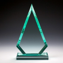 Triangle Acrylic Award - Jade Series