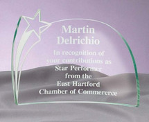 Jade Arched Star Award