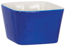 "4"" x 4"" Blue Ceramic Snack or Pet Bowl"
