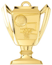 Basketball Trophy Medal
