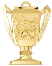 Music Trophy Medal