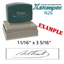 N26 XStamper Custom Self Inking Rubber Stamp