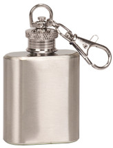 stainless steel 1oz mini flask