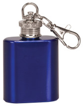 blue mini 1oz flask