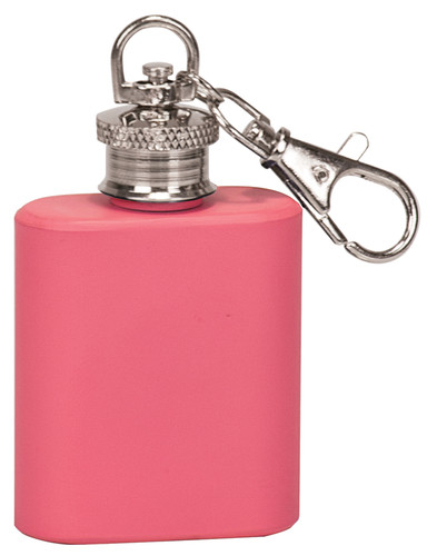 pink mini 1oz flask