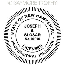 NH New Hampshire Professional Engineer Stamp