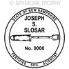 NH New Hampshire Certified Soil Scientist Stamp