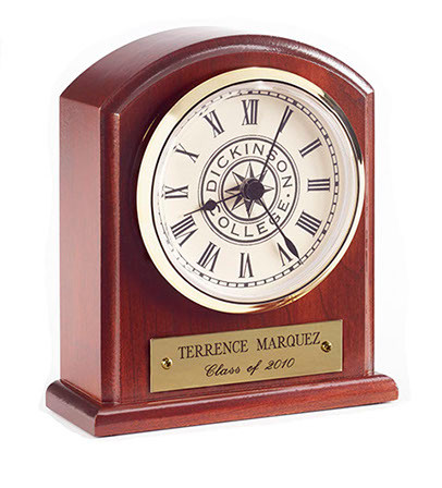 dublin burgundy roman nh clock